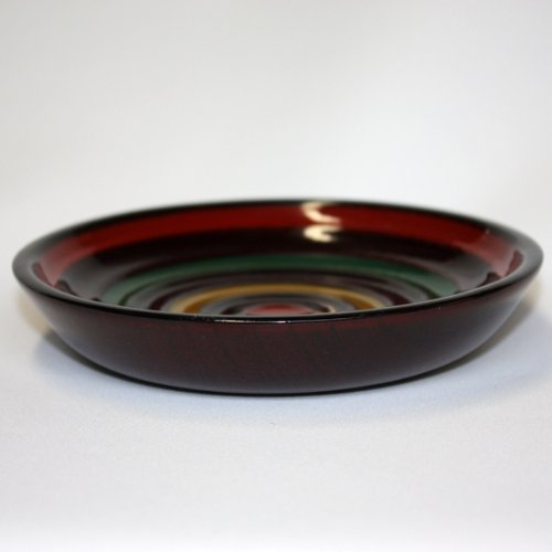 Natural wood 4.5-sun saucers top lacquered...