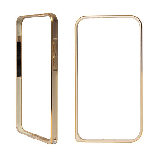 DMG Luxurious Aluminium Metal Bumper Case For Samsung Galaxy Grand Duos i9082 (Golden)  available at amazon for Rs.299
