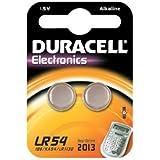 Duracell - Pile spéciale appareils électroniques - LR54 Grand Blister x2 (equivalent 189, V10GA, KA54, RW89, LR1130)
