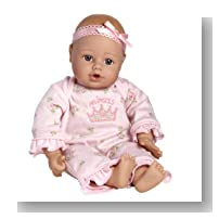 Adora Playtime Baby Doll 13-Inch Light Skintone Blue Eyes Pink Romper