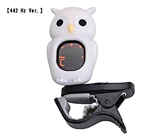 Swiff / B7 OWL Carton Tuner White Clip On Tuner クリップ チューナー フクロウくん