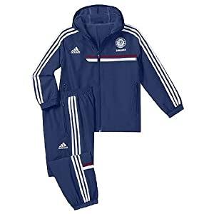 2013-14 Chelsea Adidas Presentation Tracksuit (Blue) - Infants