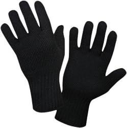 Woolen Hand Gloves - Black