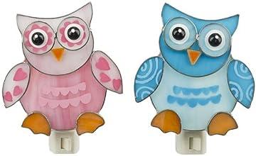 Ganz Baby Owl Night Light - Blue