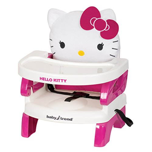 Baby-Trend-Portable-High-Chair-Easyseat-Toddler-Booster-Hello-Kitty-Polka-Dot