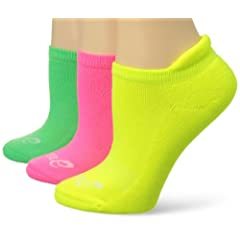 Buy ASICS Ladies Cushion Low Cut Socks (3-Pack) by ASICS