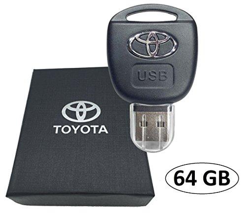 sport-luxe-voiture-toyota-telecommande-cle-usb-64-go-flash-drive-presente-dans-un-coffret-cadeau