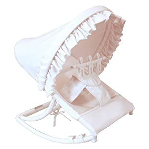 Hoohobbers Rocking Infant Seat, White Pique at Sears.com