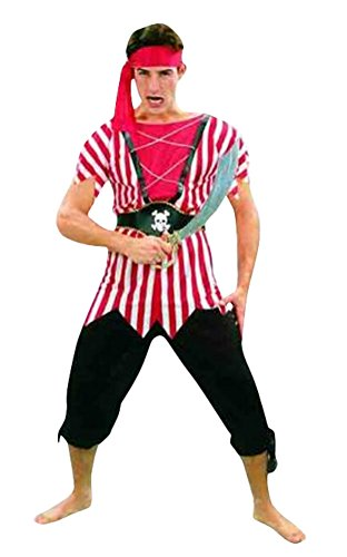 Ace Halloween Adult Men's Sexy Caribbean Pirates Costumes