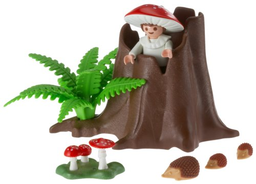 Tree Stump with Fairy by Playmobil - Buy Tree Stump with Fairy by Playmobil - Purchase Tree Stump with Fairy by Playmobil (Playmobil, Toys & Games,Categories,Pretend Play & Dress-up)