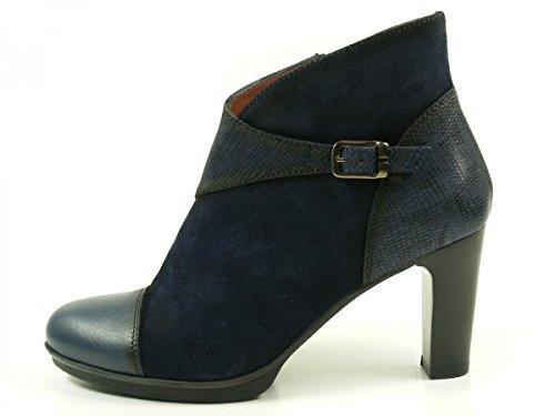 Hispanitas Amberes HI63891 Stivaletti donna , schuhgröße_1:38 EU;Farbe:bleu