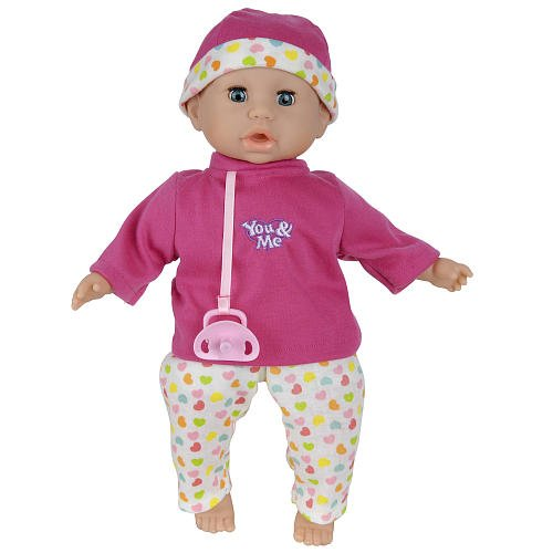 """You & Me 14"""" Caucasian Crying Doll front-950932"""