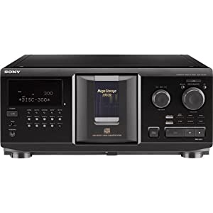 Sony CDPCX355 300-Disc MegaStorage CD Changer (Discontinued by Manufacturer)