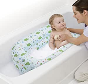 safety 1st kirby inflatable tub in blue baby bathing seats and. Black Bedroom Furniture Sets. Home Design Ideas