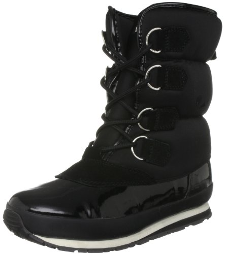 Rubber Duck Women's Trekjoggers Neoprene Black Snow Boot Sno200640107 7 Uk