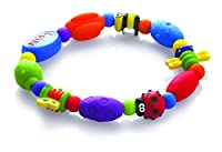 Nuby Bug A Loop Teether Beed, Colors May Vary from Nuby