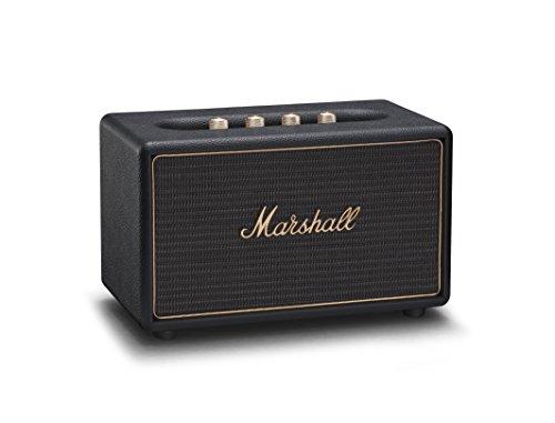 마샬 액톤 멀티룸 블루투스 스피커 블랙, 크림 2종 Marshall Acton Wireless Multi-Room Bluetooth Speaker, Black (04091912)