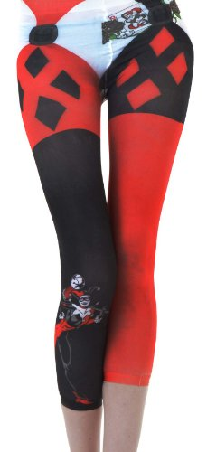 Harley Quinn Junior's/women's Footless Tights