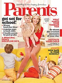 Parents, Magazine, September, 2013, Rosie Pope, Set for School - 1