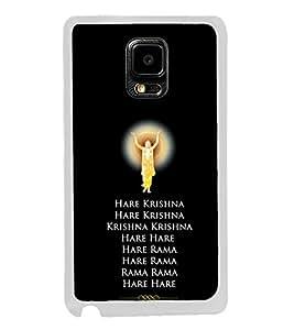 Hare Krishna 2D Hard Polycarbonate Designer Back Case Cover for Samsung Galaxy Note 4 :: Samsung Galaxy Note 4 N910G :: Samsung Galaxy Note 4 N910F N910K/N910L/N910S N910C N910FD N910FQ N910H N910G N910U N910W8