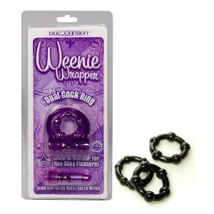 41oMKKpVIBL. SL500  Doc Johnson Weenie Wrapper Purple Adult Sex Toy Kit