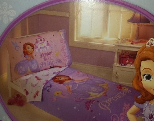 Disney Jr. Princess Sofia The First 4 Piece Toddler Bedding Set