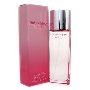 Clinic  on Amazon Com  Happy Heart By Clinique For Women  Parfum Spray 1 7 Ounces