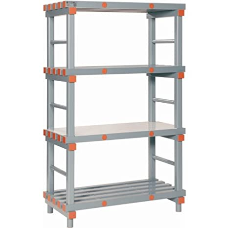 REA Plastic Euro Rack - 1670(h) x 1000(w) x 500(d)mm.