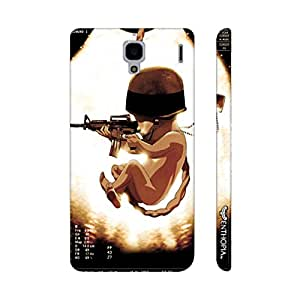 Xiaomi Red Mi 1s SOLDIER BABY designer mobile hard shell case by Enthopia
