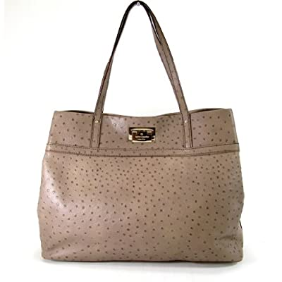 Kate Spade New York Gabrielle Ostrich Embossed Leather Tote, Windsor