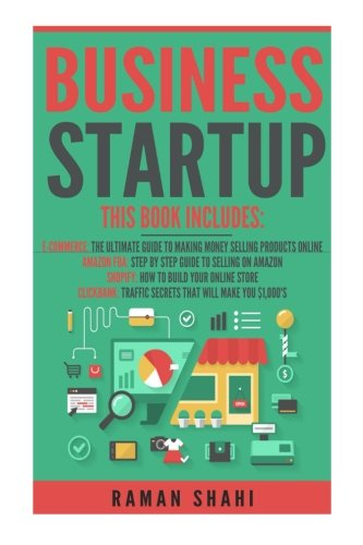 Business-Startup-4-manuscripts-Ecommerce-Amazon-Fba-Shopify-Clickbank-how-to-make-money-online