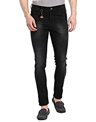 Fever Men's Jeans (211671-3-34_Black)