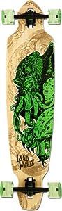 Landyachtz Bamboo Battle Axe Squid Complete Longboard Skateboard -9.5X42