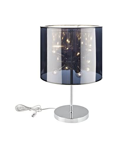 Modway Arena 8-Light Table Lamp, Silver