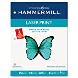 New-Hammermill 107681 - Laser Print Office Paper, 3-Hole Punch, 98 Brightne ....
