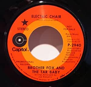 electric chair 45 rpm single