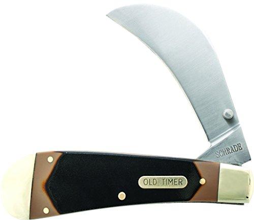 Old Timer 216OT Liner Lock Hawkbill Pruner Pocket Knife