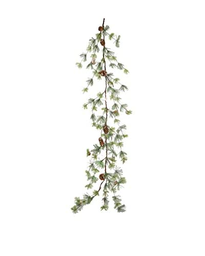 Fantastic Craft 5-Ft. Pine and Pinecone Garland, Green