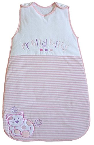 The Dream Bag Baby Sleeping Bag Pretty Kitty Velour 3.5 TOG
