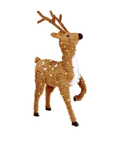 "National Tree Company 36"" Creative Images Brown Prancing Reindeer"