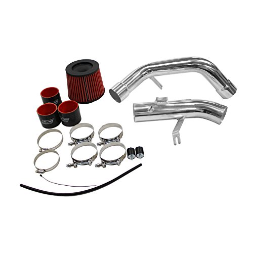 DC Sports CAI4007A Polished Cold Air Intake System (09 Eclipse Intake compare prices)