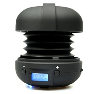 XMI X-mini Rave Capsule Speaker for iPhone/iPod/iPad/MP3 Player/Laptop - Black