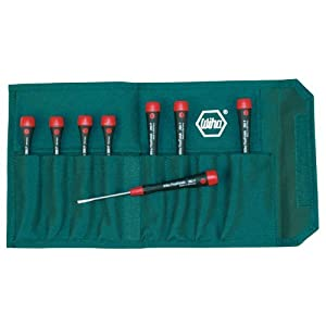 Wiha 26093 Slotted Screwdriver Set with PicoFinish Handle, 8 Piece at Sears.com