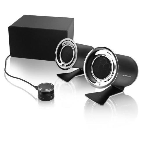 Soundscience Rockus 3d 2.1 Silver/Black Vga/RCA/Dvi 150w