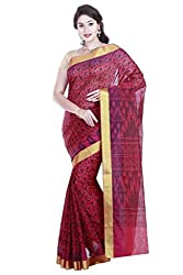 Brindavan Poly Silk Fancy Printed Party Wear Saree with Blouse (19892298)
