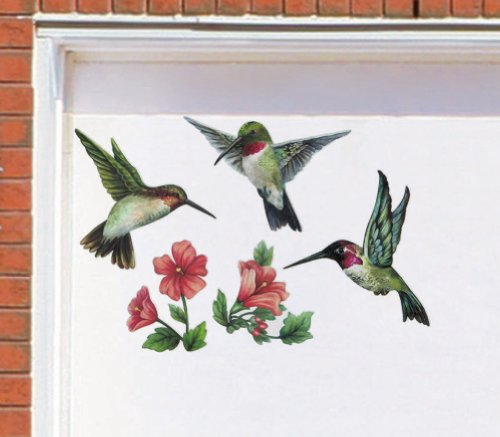 Images for Hummingbirds & Flowers Garage Door Magnets By Collections Etc