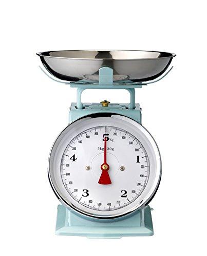 Bloomingville balance culinaire pouvant supporter jusqu'à 5 kg-bleu