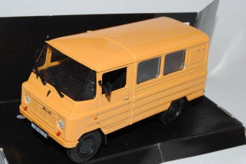 ZUK A 07 Transporter Orange 1/43 Nash Avtoprom Modell Auto