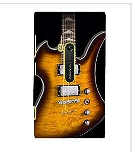 Lighting Guitar Strings 3D Hard Polycarbonate Designer Back Case Cover for Nokia Lumia 920 :: Microsoft Lumia 920