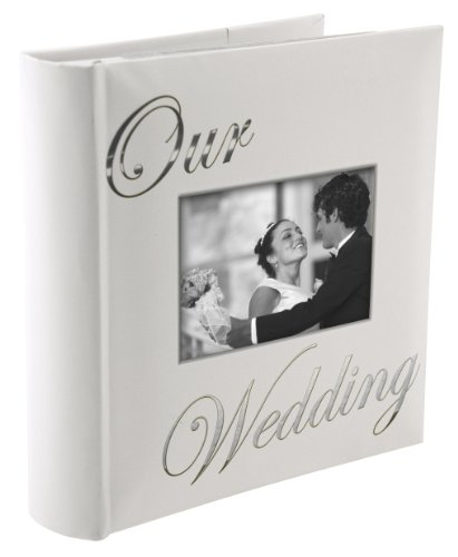 OUR WEDDING album by Malden holds 160 photos – 4×6